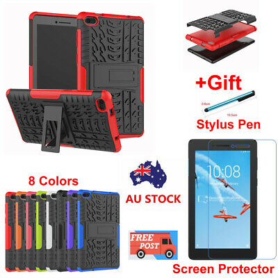 For Lenovo Tab E7 (TB-7104F) Kids Shockproof Hybrid Tablet Hard Stand Case Cover