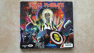 Iron Maiden Out of the Silent Planet CD Single Limited Edition EMI 2000 rare OOP
