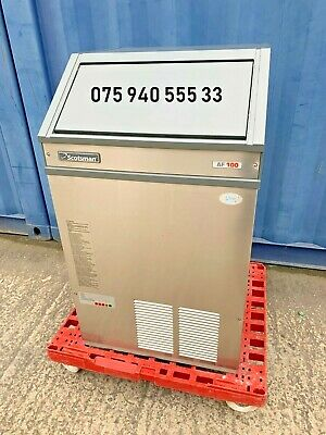Commercial Scotsman Ice Flake Machine / Ice Maker 100 kg per 24 hrs