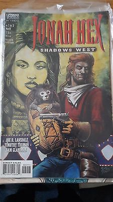 Jonah Hex Shadows West #2 DC Vertigo Joe R Lansdale