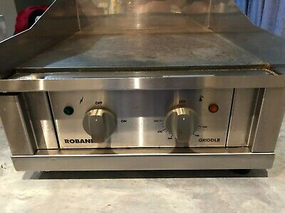Commercial Cafe Restaurant ROBAND G400 Flat Plate Grill  240 Volt 10Amp