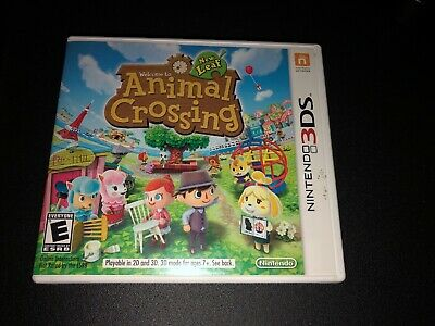 Original Game Cases & Boxes Animal Crossing New Leaf *case Only*