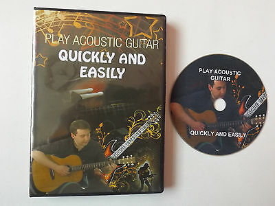Learn To Play Acoustic Guitar Quickly And Easily In 40 Minutes DVD For Beginners
