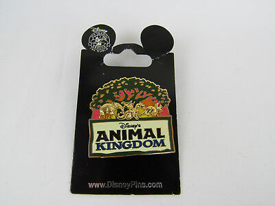 Disney Parks 2008 Animal Kingdom Elephant Dragon Dinosaur Pin New on Card Rare
