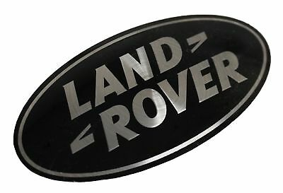 Genuine Land Rover Discovery 5 BLACK+SILVER front grlle oval badge grill LRB365