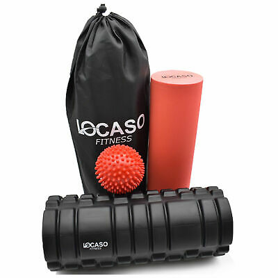 Foam Roller Deep Grid Yoga Massage Physio for Gym Trigger Point Pilates Exercise