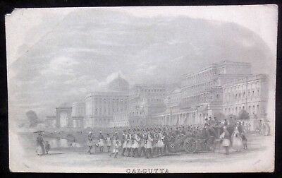 Vintage Picture Postcard Calcutta. Size approx 3.4x5.5 inches, #115