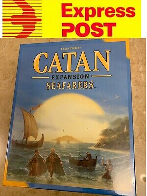 Catan Seafarers Expansion For Settlers Of Catan 5th Edition, Mel Stock, Express