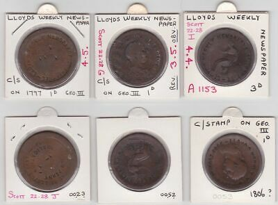 AUSTRALIA Counter stamps: Purchase Number One of Lloyds Last New Penny (3)