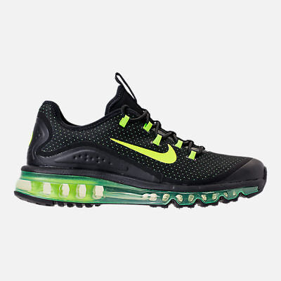 official photos 35759 345b8 AUTHENTIC NIKE AIR MAX MORE Black Volt AR1944 001 Running Shoes Men size