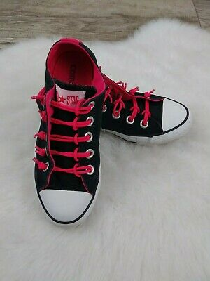 7a1c70c412fd Converse All Star Chuck Taylor Stretch Pink and Womens Sneakers Size 6