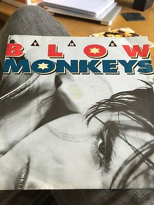 Blow Monkeys - It Doesn't Have To Be This Way Rare Vinyl Single 1986 Nm/Vg+