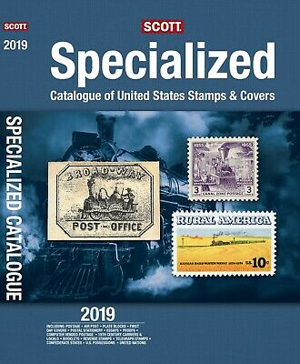 2019 Scott Specialized United States US Postage Stamp Catalogue  + Free Shipping