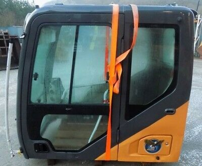 Case Cab To Fit D Series Excavators / Slight Damage / Free Uk Delivery Inc