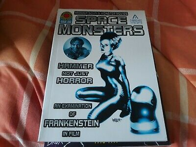 Space Monsters #3 - NEW - Hammer Sci-fi and Monster movies, Frankenstein