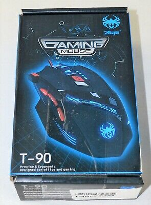 d45f28bc209 ZELOTES PROFESSIONAL 2400 DPI High Precision USB Wired Gaming Mouse ...