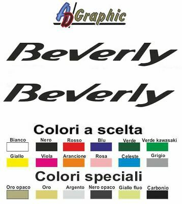 Adesivi adesivo 2.PZ Stickers decal sticker piaggio beverly 400 500