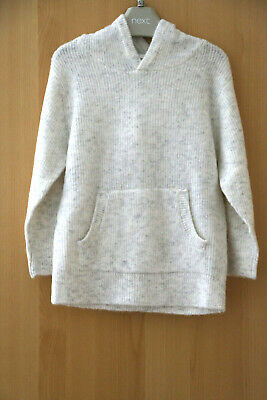 Next Girls Super Soft Hooded Jumper Age 4 Years BNWT Tag £16