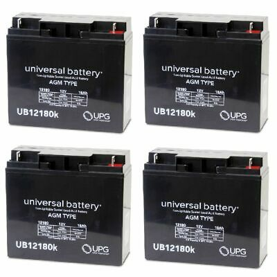New 4 Pack Upg Ub12180 12V 18Ah Jumper Pack Booster Box Battery Replacement