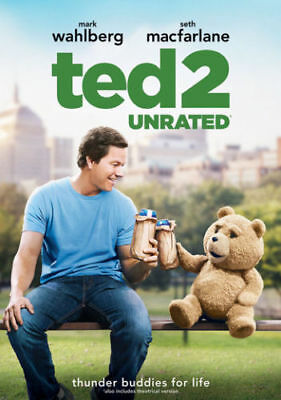 Ted 2: Unrated Edition [Mark Wahlberg & Seth Macfarlane] New DVD, Free Shipping