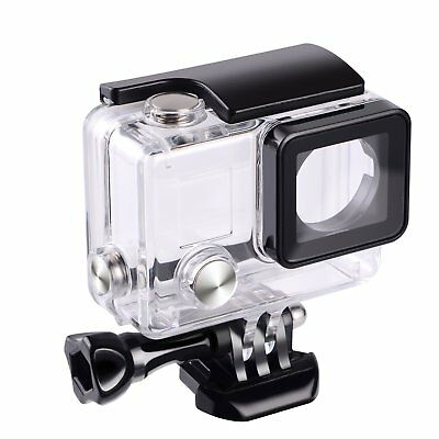 For GoPro Hero  3+ 4 Go Pro Black Camera Dome Port Waterproof Case Housing Cover
