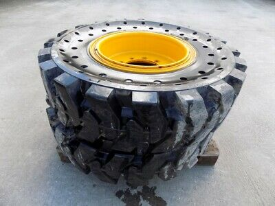 Jcb X4 Shun Gin Semi Solid 13.00 R24 Wheel And Tyres To Fit 550-80 - 560-80 +