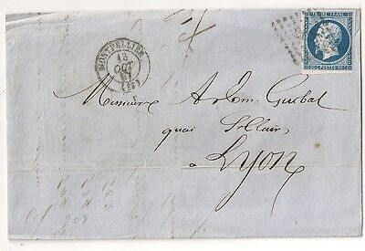 N° 14 4 Marges Montpellier Herault Sur Lettre Cover France. L208