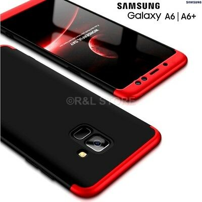 Samsung Galaxy Cover A6/A6 plus 2018 Front Retro 360° Original Armor Case