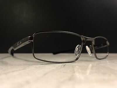 3dedacbd05 Oakley Eyeglass Frame - Socket 4.0 - Pre-Owned - Pewter Matte Black Metal
