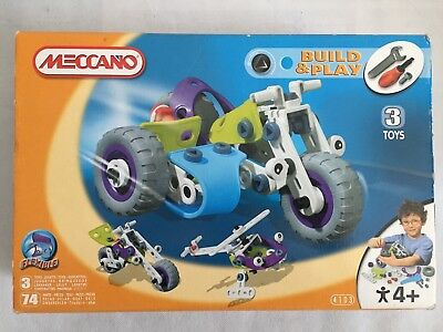 Benne Meccano 5 2121 Flexible Notice Play Boite Buildamp; AnsVoiture Yf6yb7g