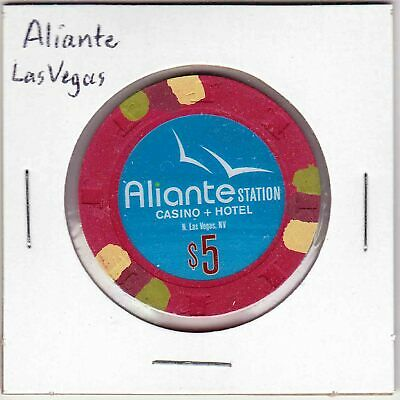 $5 chip from Aliante Station Casino in Las Vegas