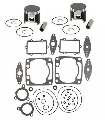 2008 2009 Arctic Cat Crossfire 600 SPI Pistons Top End Gasket Kit Std Stock Bore