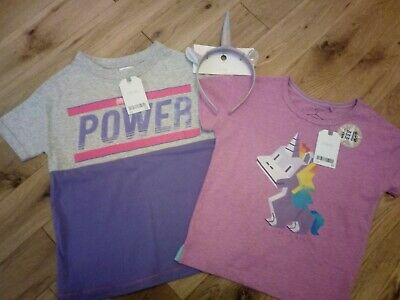 Next Girls Unicorn Bundle Age 2-3 Years all bnwt - ideal gift