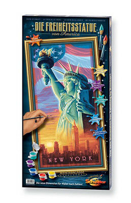 NO MIXING NEEDED Painting by number Schipper Statue of Liberty New York
