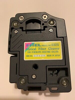 FITEL Model S325 Precision Fiber Optic Cleaver FURUKAWA Optical Fiber Cleaver