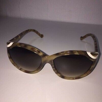 e01ba3c5e210 Auth LOUIS VUITTON SUNGLASSES Ivy Cat Eye Z0747E Tortoise Size 56-15 Temple  140