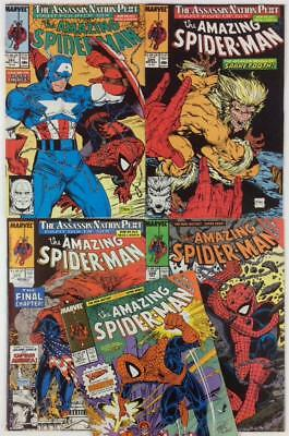 Amazing Spider-Man #323 to #327 (Marvel 1989) 5 x issues.
