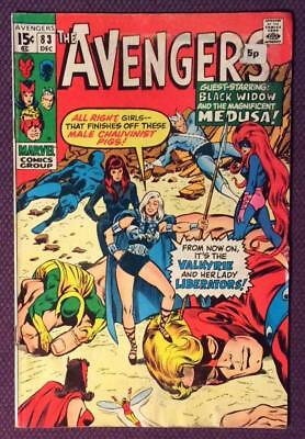 Avengers #83 First Appearance Valkyrie (Marvel 1970) Bronze age classic