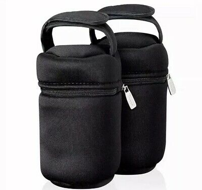 2 X Tommee Tippee Closer to Nature Insulated Bottle Carriers
