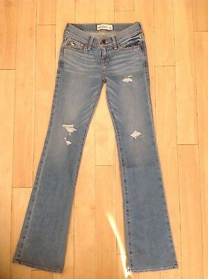 Abercrombie & Fitch Jeans, Blue Denim, 10 yrs or 16 yrs, BNWT