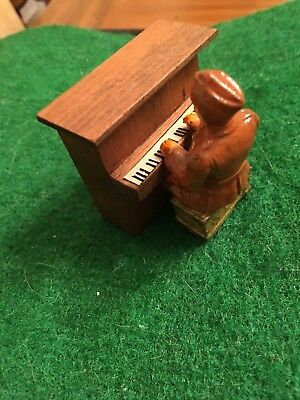 Soldier Playing The Piano; Rare & In Minty Condition; Same Day Shipping