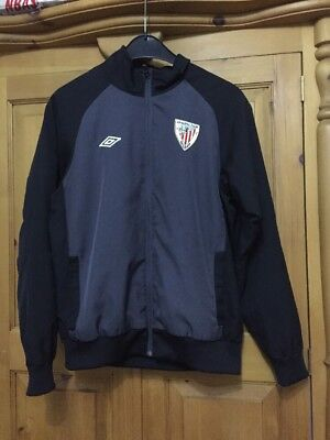 Athletic Club Bilbao jacket track top for boys size L  umbro