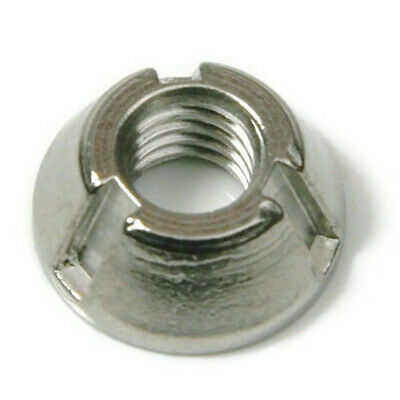 Tri-Groove Tamper Proof Security Nuts 316 Stainless Steel Anti-Theft Fasteners
