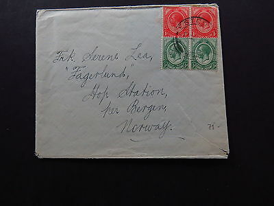 Cover Envelop South Africa Zuid Afrika Estcourt to Bergen Norway Norvege Norge