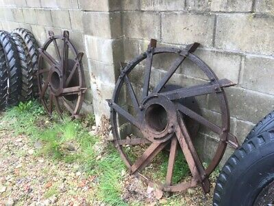 Pair Of Fordson? Wheels Strakes