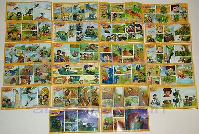 2017 Infinimix (For boys) Complete sets (22 figures + all BPZ) Russland