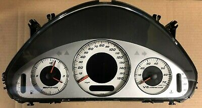 Mercedes W211 E55 AMG Instrument Cluster A2115404147