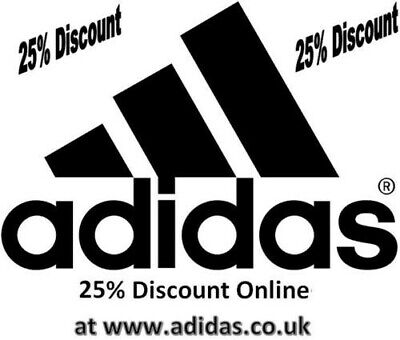 Adidas 15% Off Evertyhing Valid Discount Code *Instant Delivery*