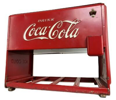 Rare Original Kay COCA COLA COKE 1939 Salesman Sample Miniature Cooler Ice Chest
