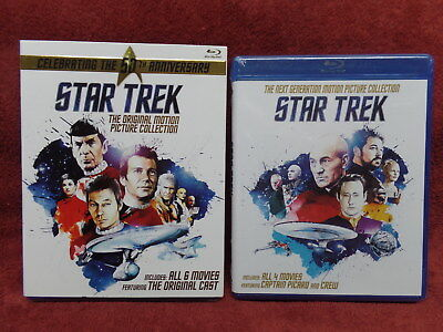 Star Trek: Original AND Next Generation Motion Picture Collection Blu-ray